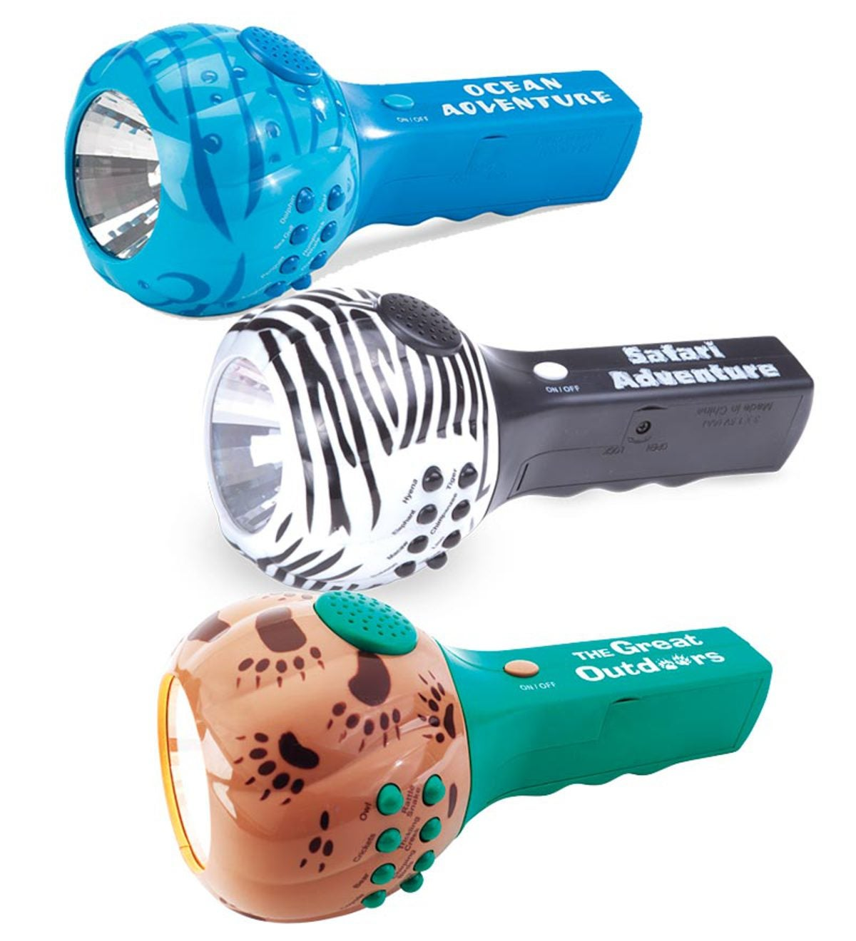 Flashlight with Nature Sounds and Lights