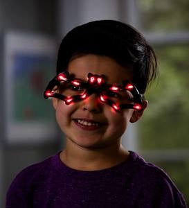 Batty Light-Up Halloween Glasses