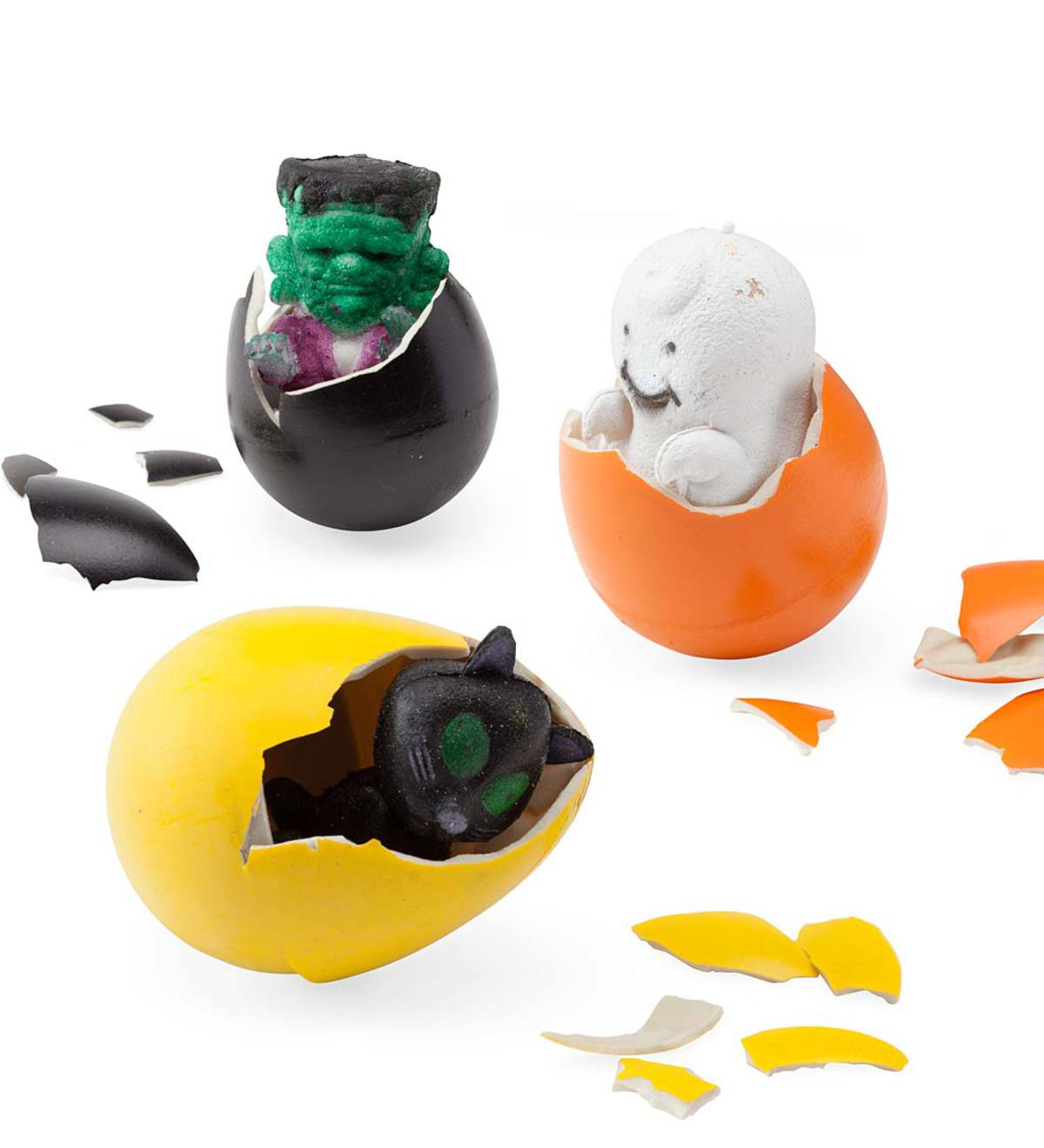 Set of 3 Halloween Hatch 'Ems