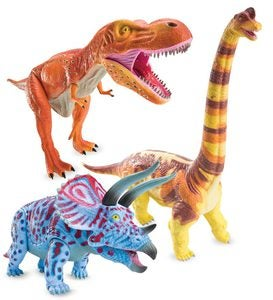 Jurassic Action Dinosaur Models