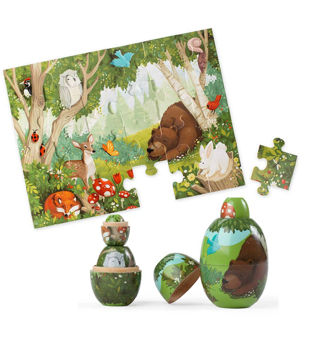 Woodland Friends Nesting Set