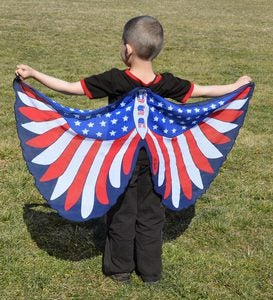 American Bald Eagle Fabric Wings