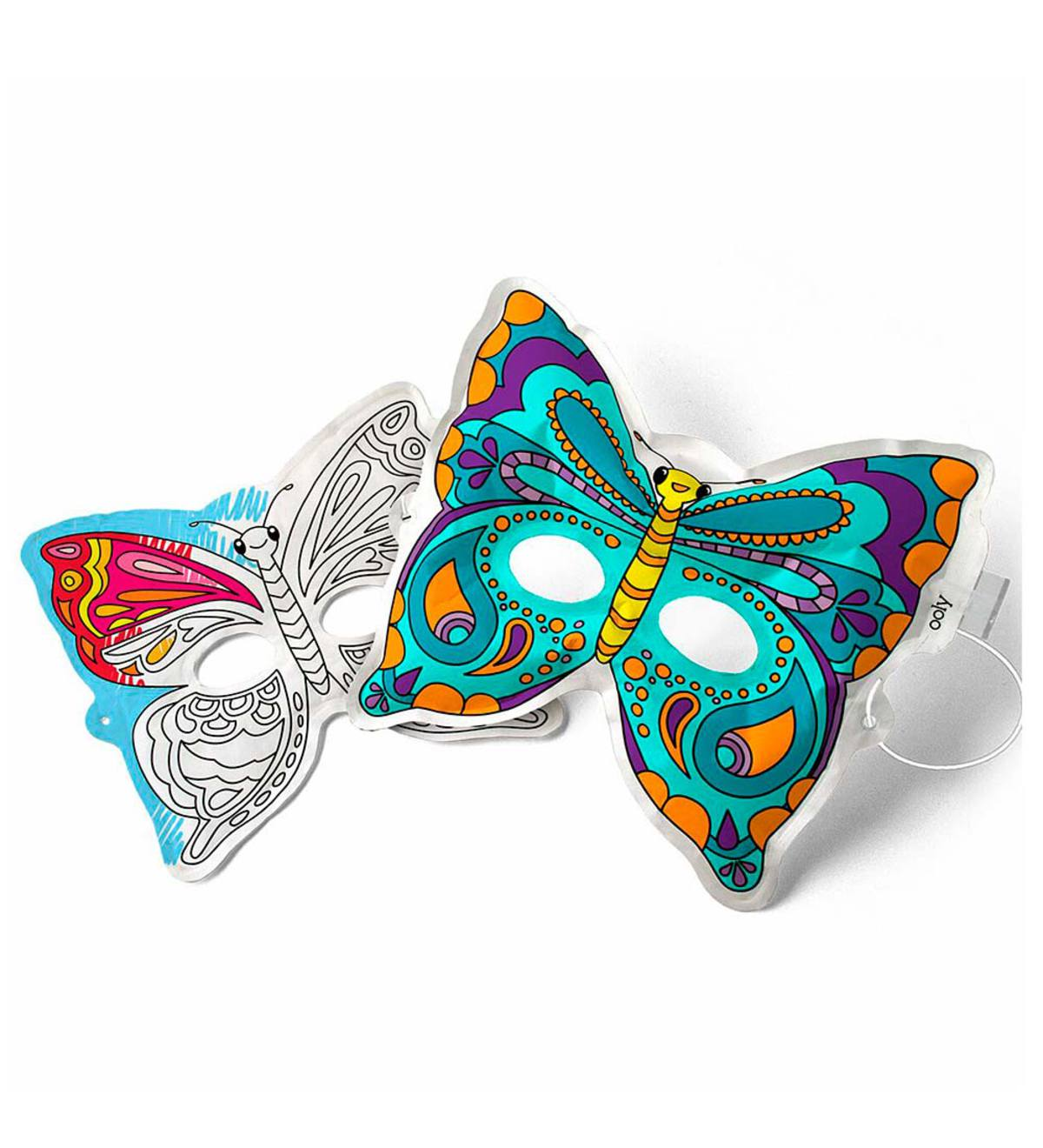 3D Colorables Masks (set of 2) - Butterfly