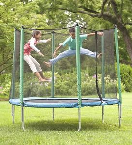 8' Enclosed Trampoline