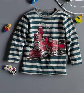 Train Tee - Red - 3T