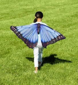 Realistic Fabric Butterfly Wings - Blue Morpho