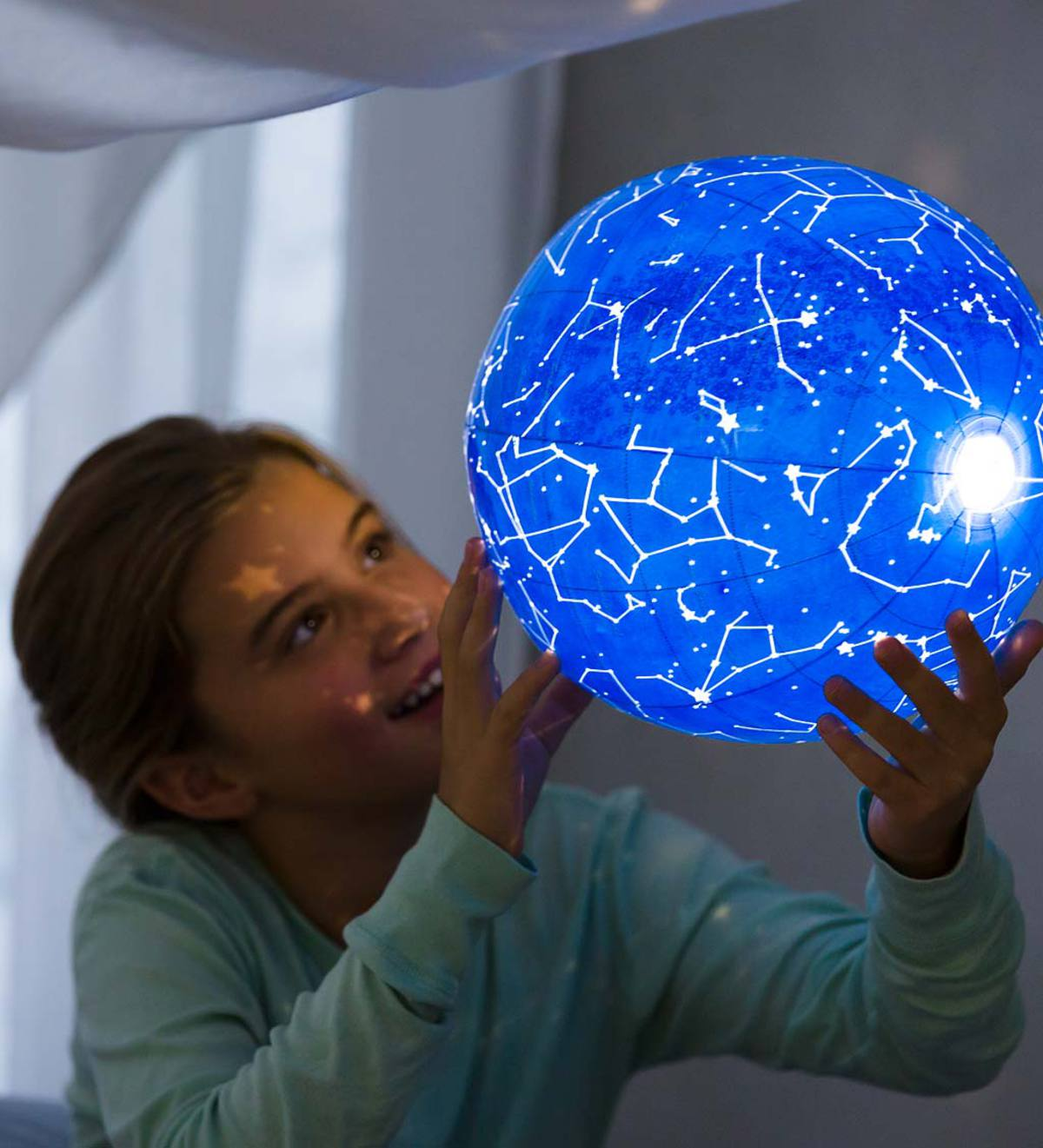 Inflatable Celestial Light-Up Ball