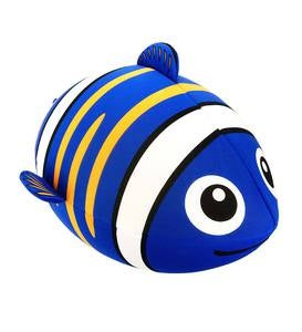Monster-Sized Fish Inflatable - Blue