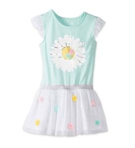 Daisy Sparkle Dress Set - Multi - 3T