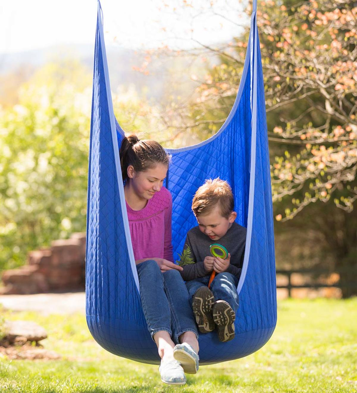 Cozy Quilted HugglePod Hanging Chair