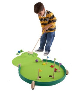 Wonder Golf Portable Multi-Skill Putting Green with Adjustable Feet