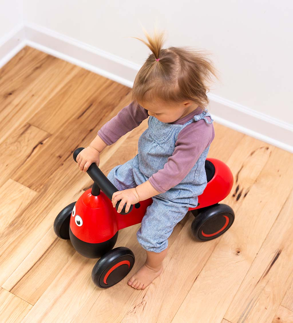 One2Go Foot-to-Floor Ladybug Scooter