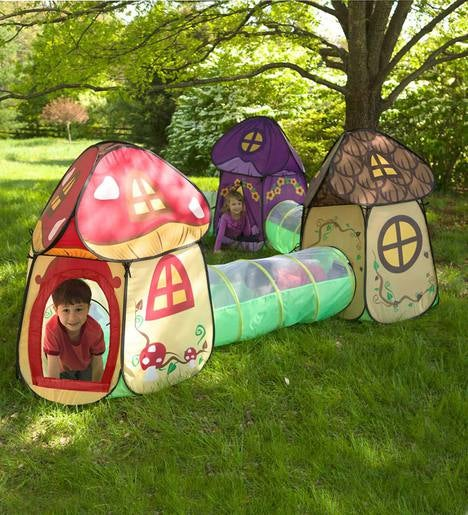 Fairy Village Play Tent and Tunnel