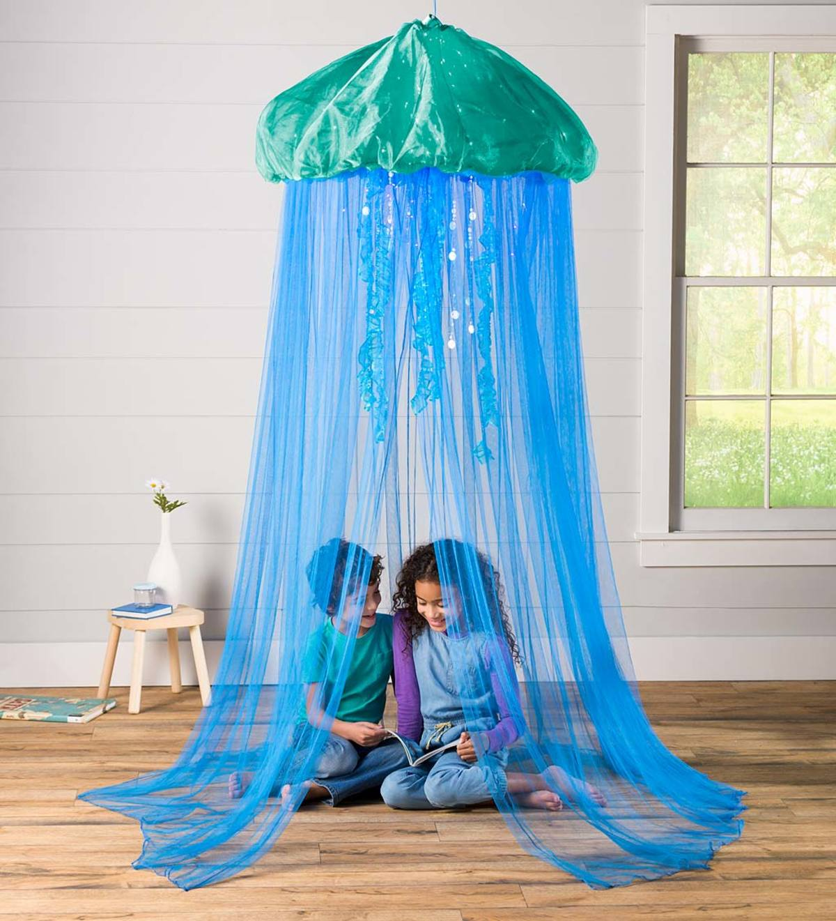 Aquaglow Jellyfish Hideaway Bed Canopy Excluded From