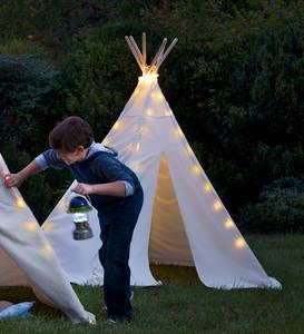 7' Teepee and 7' Teepee UL Plug-In-Lights Special