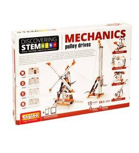 Engino Discovering STEM: Mechanics Pulley Drives Construction Kit