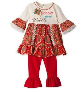 Gobble Tunic & Leggings Set