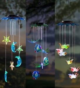 Solar Color-Changing Mobiles - Dragonfly