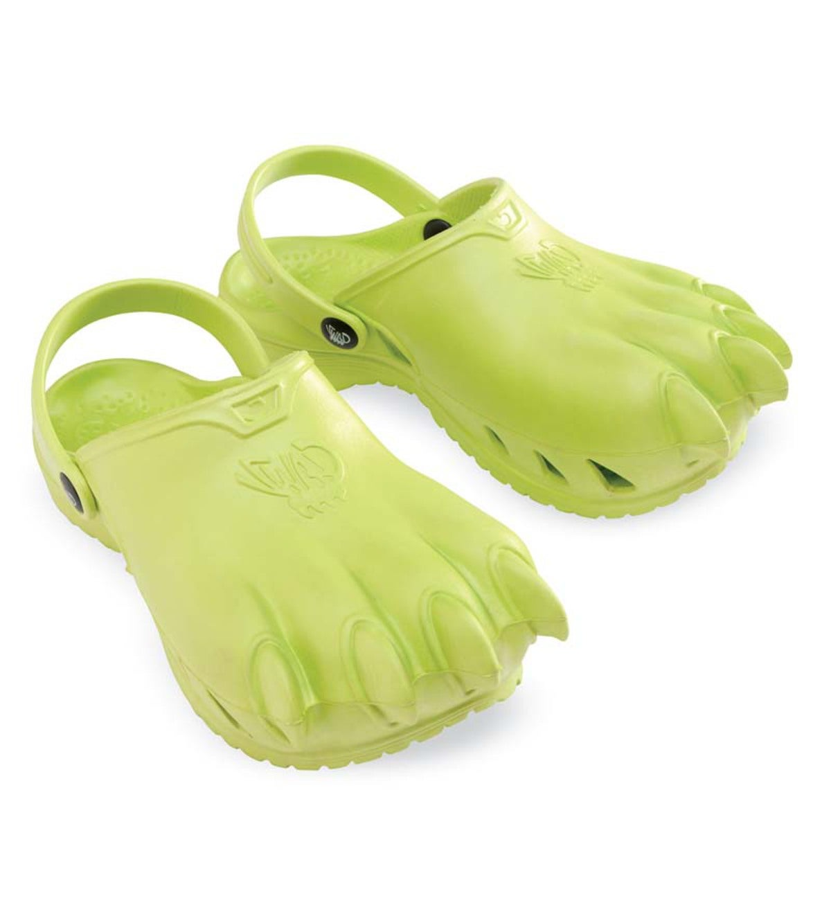 Clawz® Shoes for Kids - Green - Size 11/12