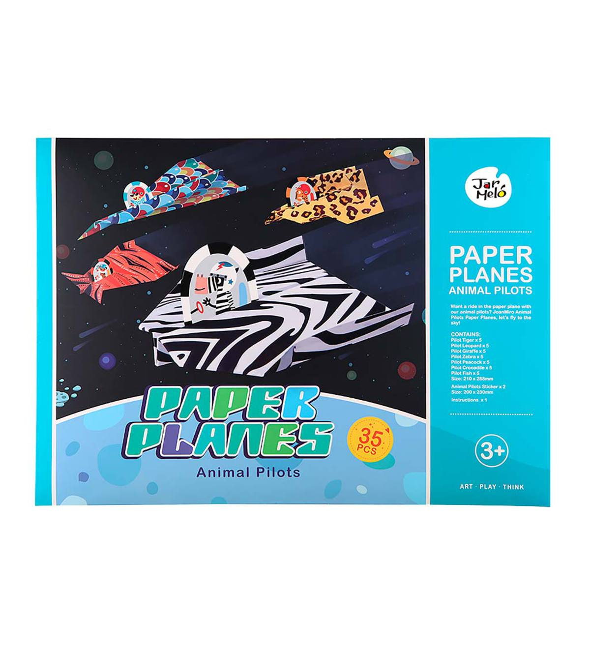 Paper Airplanes Kit - Animal Pilots