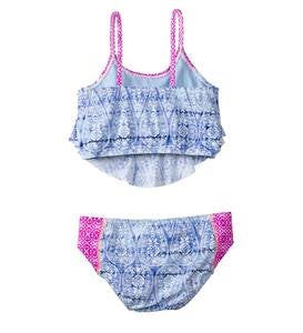 Flutter Two-Piece Swim Suit - Multi - 12