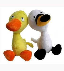 Duck and Goose Plush Animals