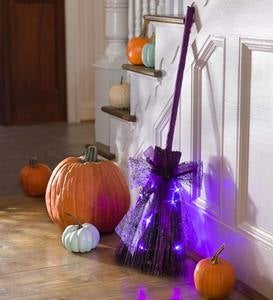 Halloween Light-Up Broom