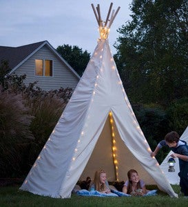 12' Teepee and 12' Teepee Lights Special
