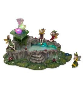 Light-Up Fairy Fountain