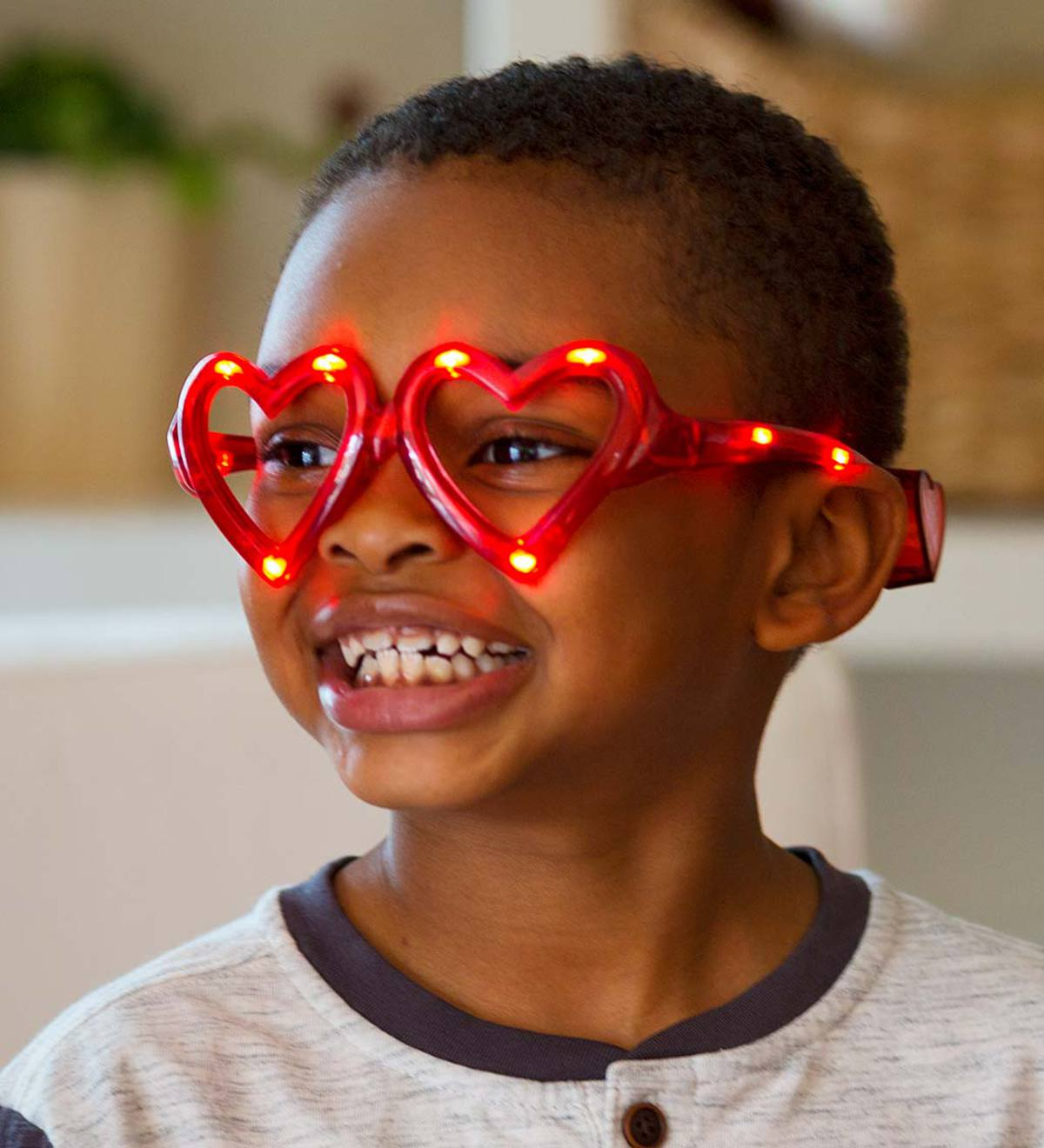 LED Eye Love You Heart Glasses (set of 3)