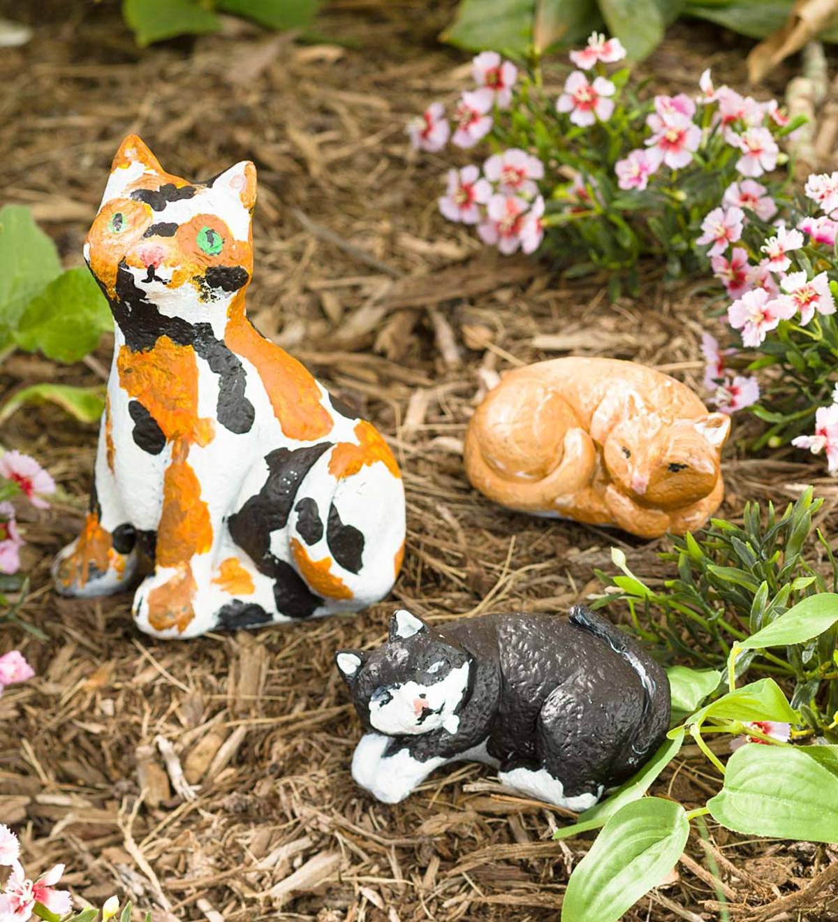 Color Pops® Paint-Your-Own Rock Pets: Cats