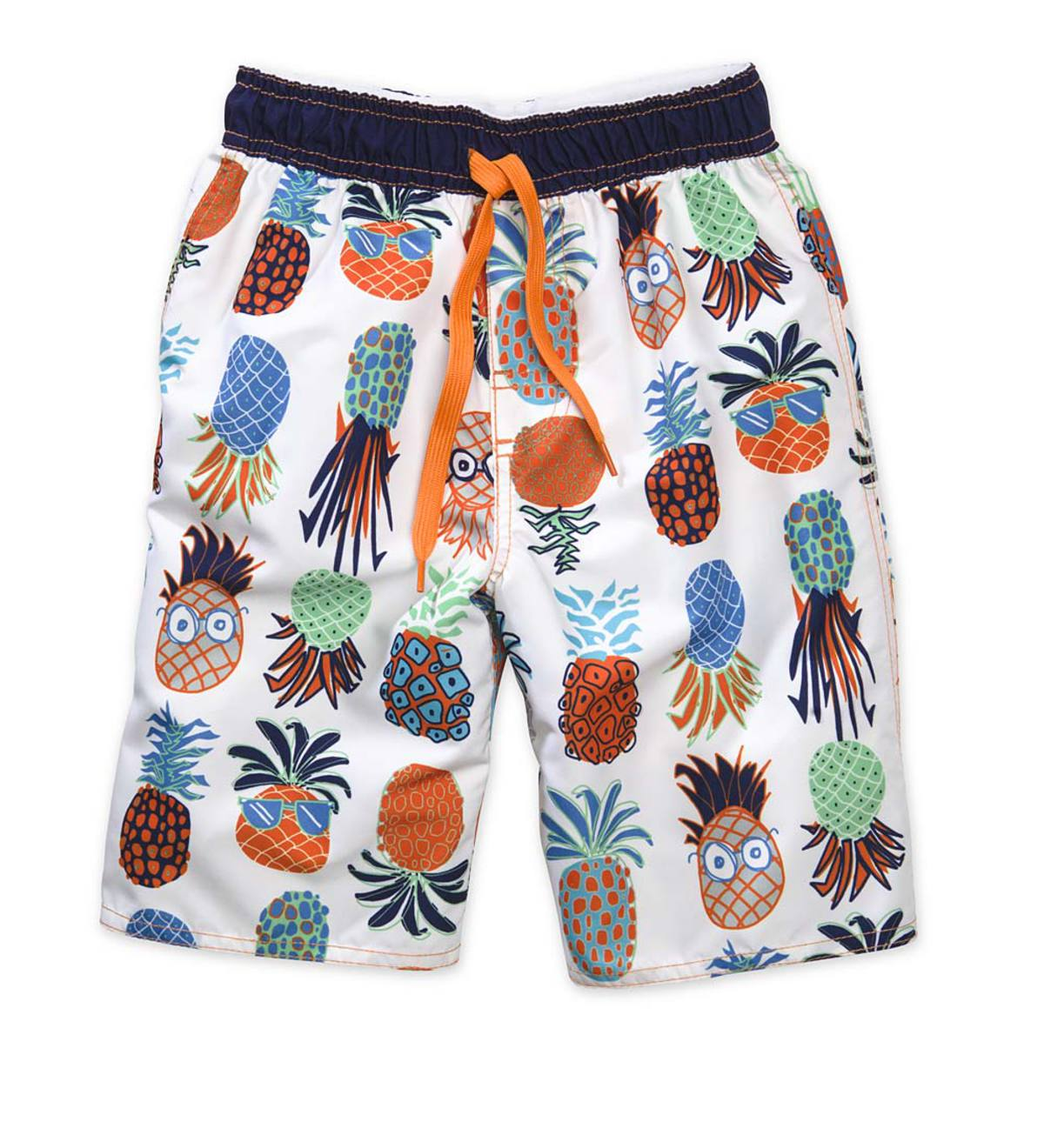 Pineapple Swim Trunks - Multi - 6