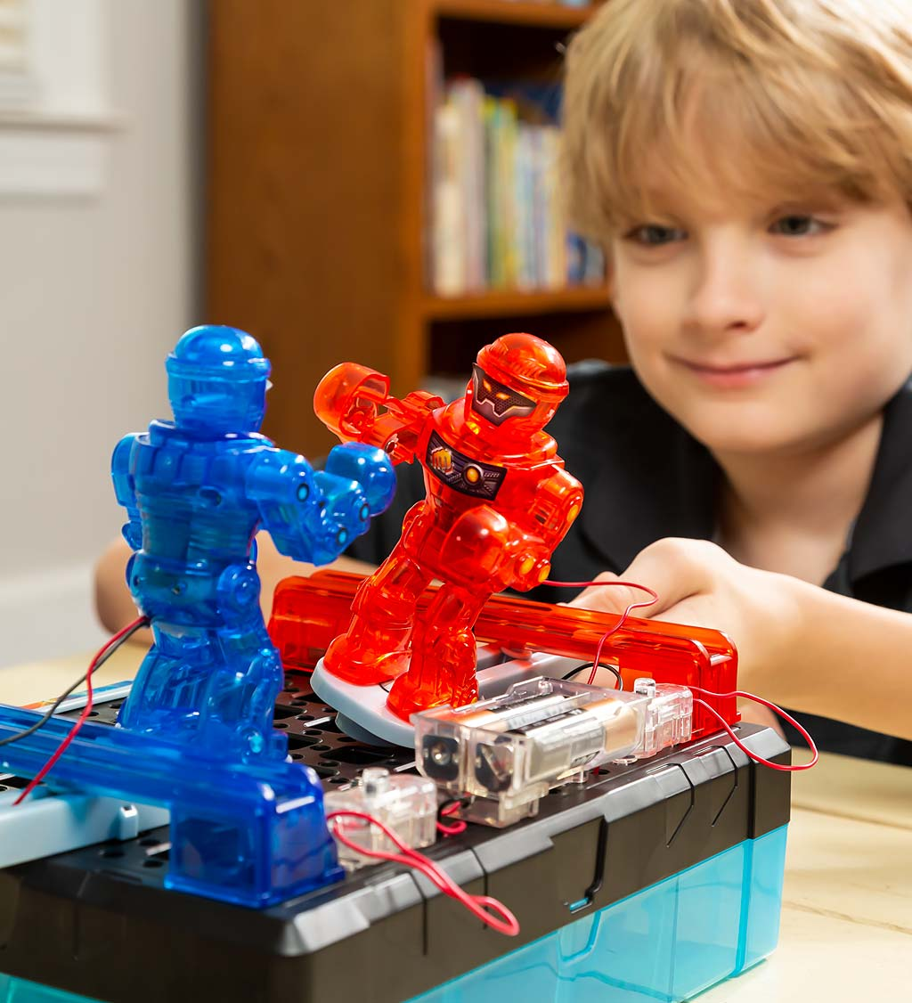 Build-Your-Own Robot Boxing Champion Kit