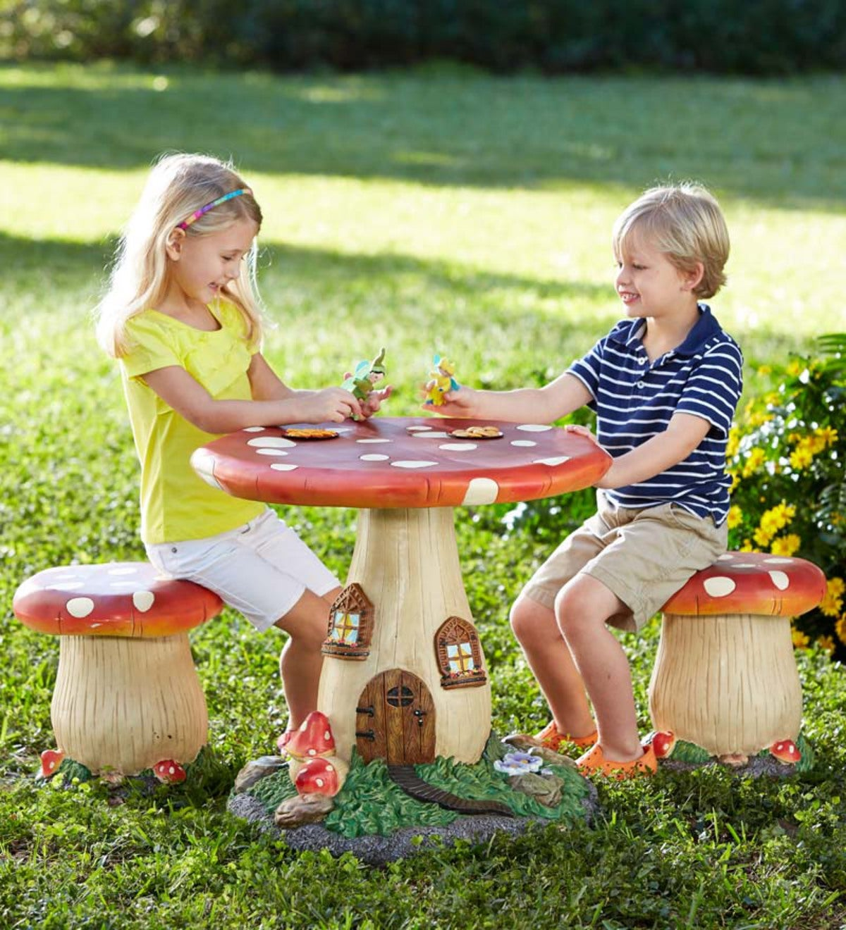 Fairy-Tale Mushroom Furniture