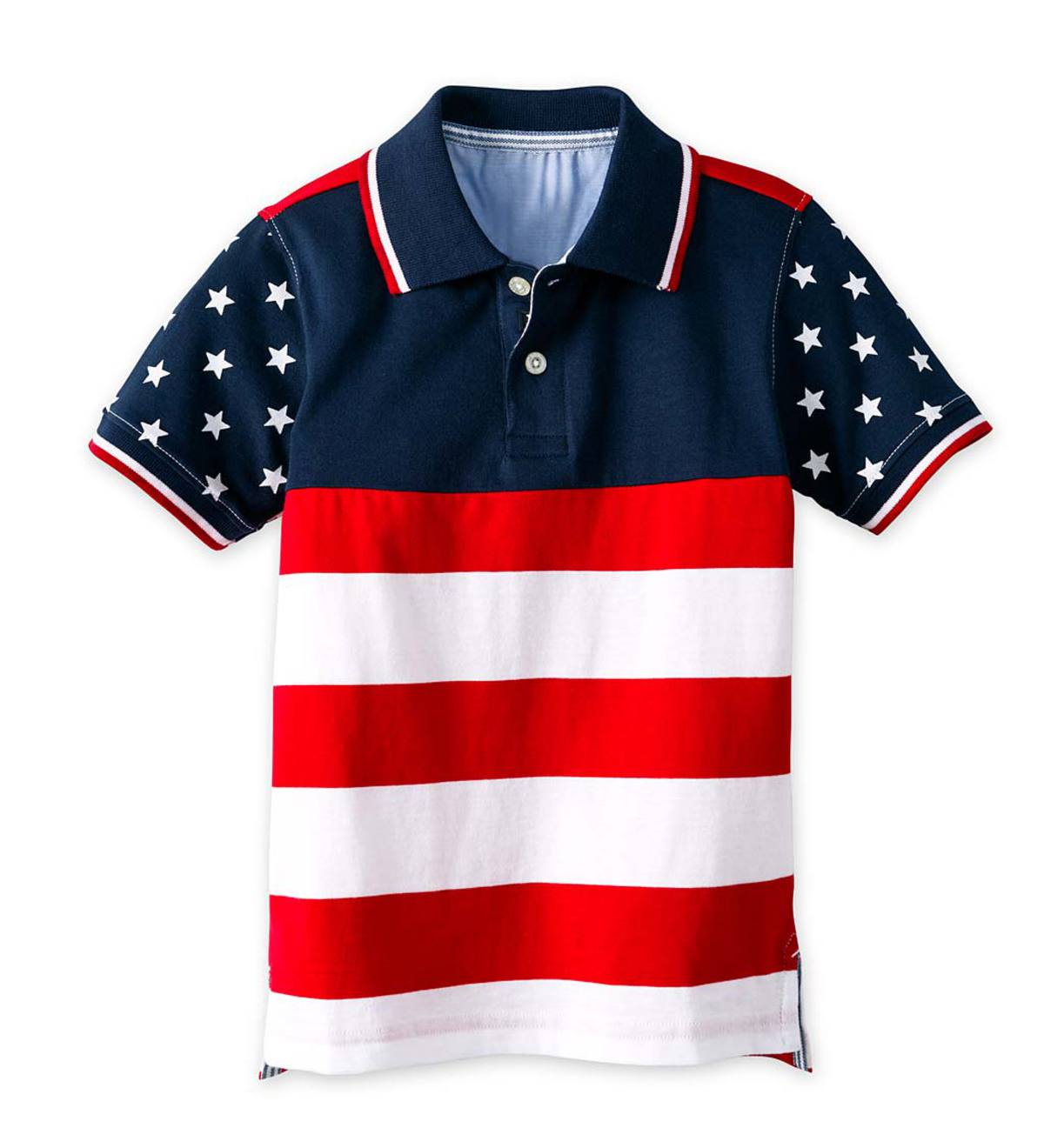 Flag Polo - Red - 8