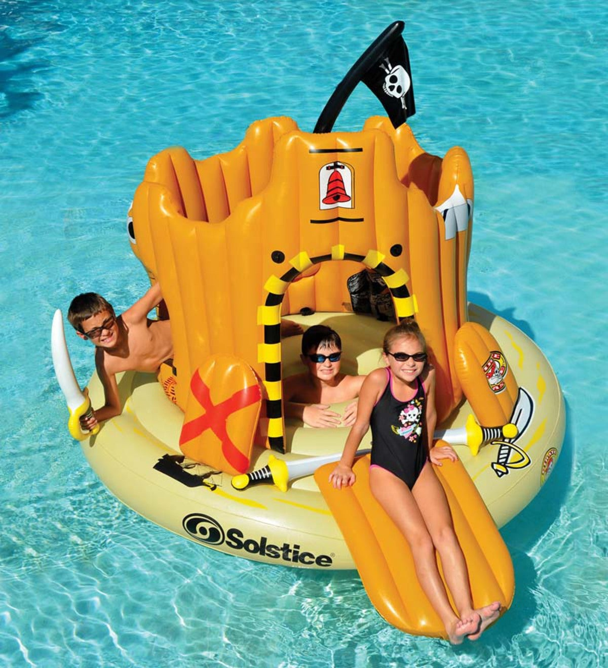 Pirate Island Inflatable Adventure Set