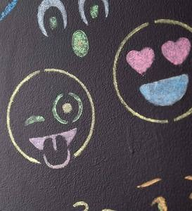 ChalkScapes® Emoji Stencils and Chalk Kit