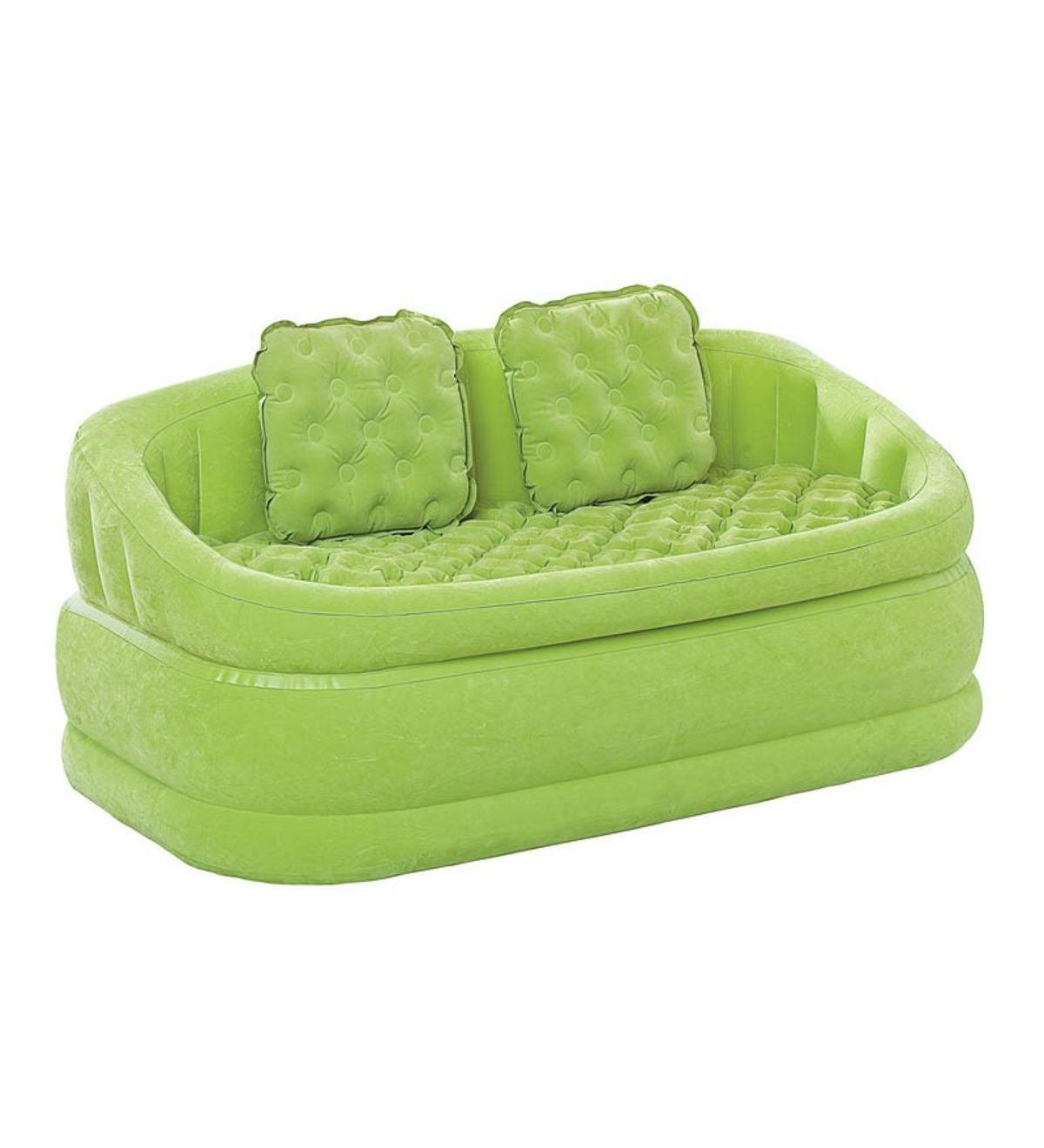 Top Image Plush Inflatable Cafe Chair