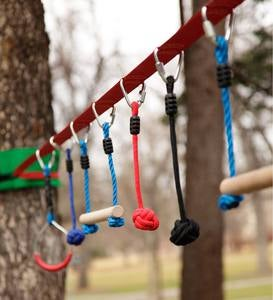 Ninjaline Backyard Obstacle Course Kit