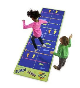 Jump! Leap! Crazy Feet! Activity Carpet