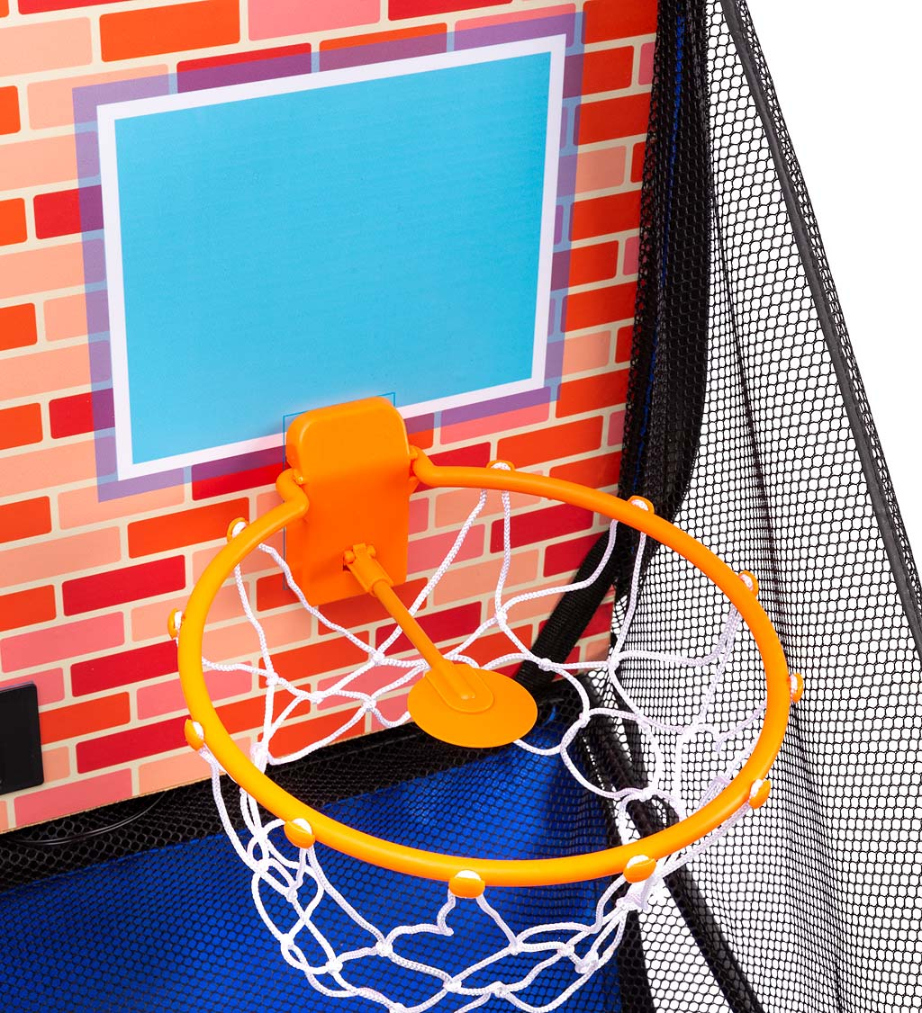 Over-the-Door Dual Electronic Basketball Game
