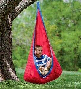 HugglePod® Deluxe Indoor/Outdoor Canvas Hanging Chair