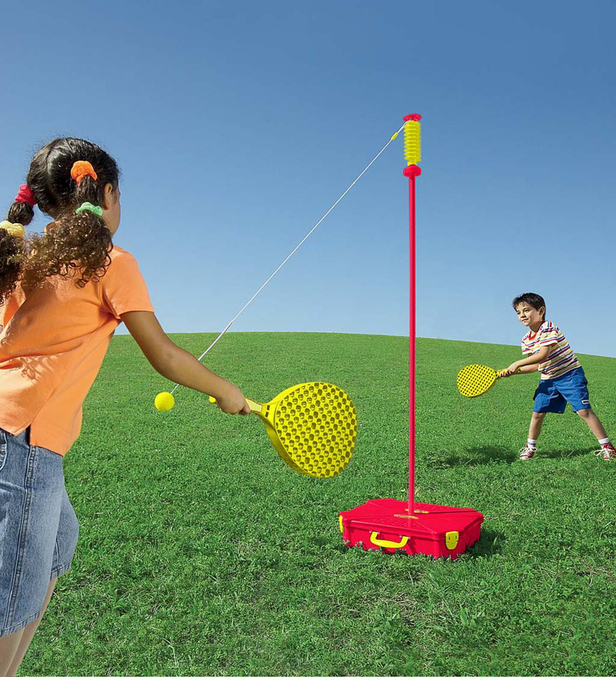 All-Surface Adjustable Classic Swingball With Sturdy Base
