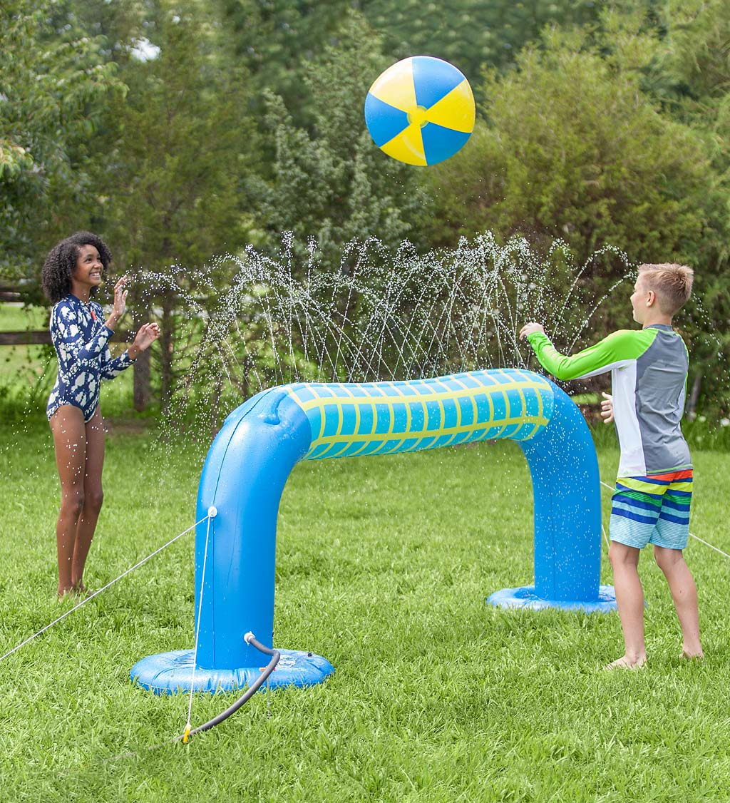 Volleyball Sprinkler with Inflatable Ball