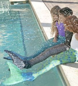 Mermaid Tail - Barracuda Black - 10