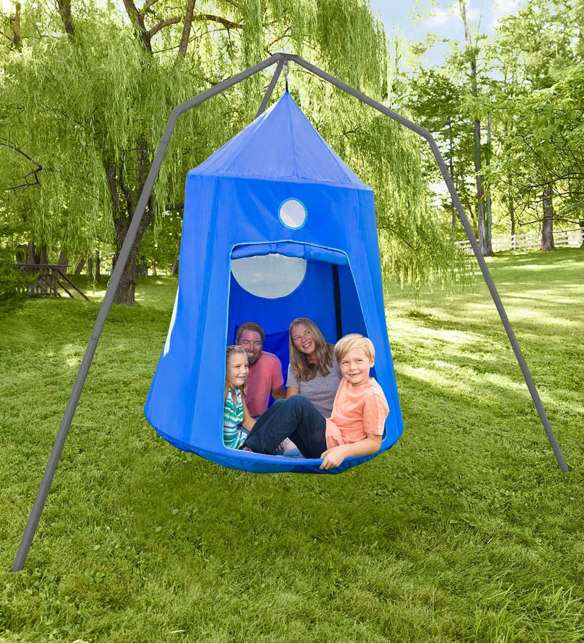Nylon Family HugglePod HangOut® and Family HugglePod HangOut Stand Special