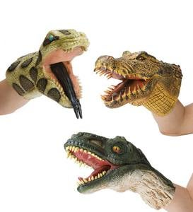 Reptile Hand Puppet