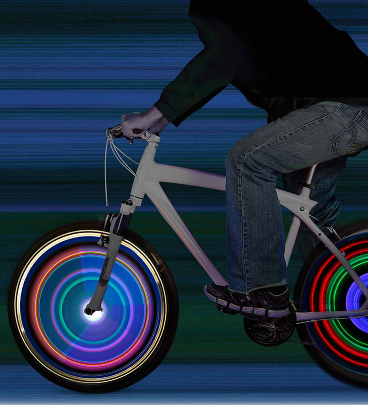 NightZone® Bicycle Spoke Lights
