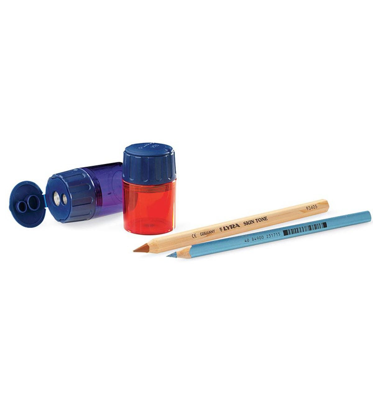 Set of 2 Two Hole Indispensable Pencil Sharpeners