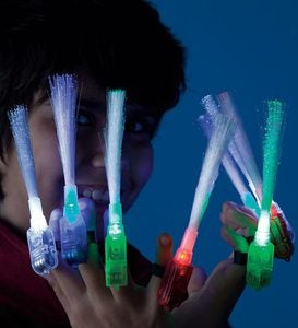 Super Finger Flashlights, set of 8